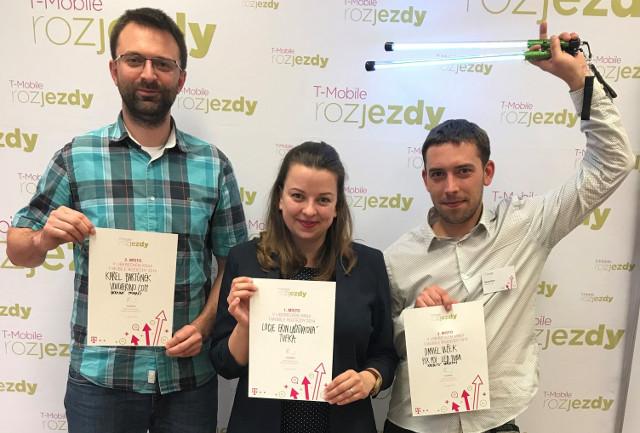 2. místo v soutěži T-Mobile Rozjezdy 2019