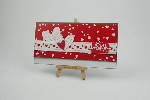 Dárková obálka / č. 55 Valentýn