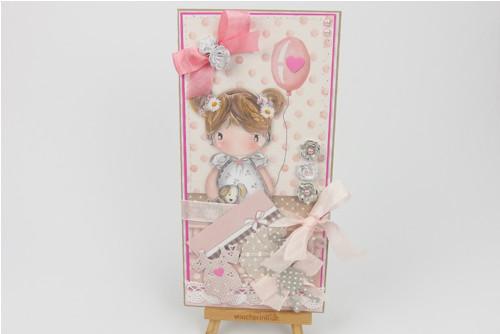 Dárkové přáníčko pro děvčátko / č. 2140