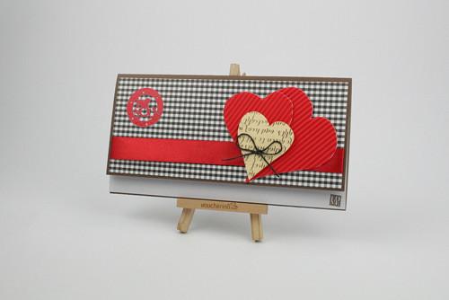 Dárková obálka / č.50 Valentýn