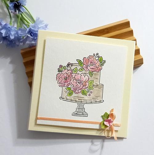 """Dárkové svatební přáníčko """"Kvítí"""" č. 2599"""