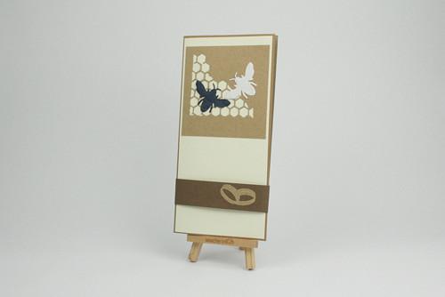 Dárková obálka - přáníčko / svatební č.1