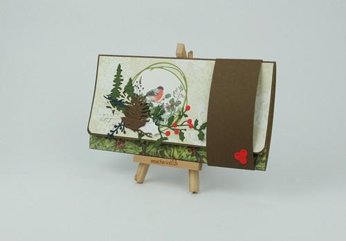 Dárková obálka vánoční / přání
