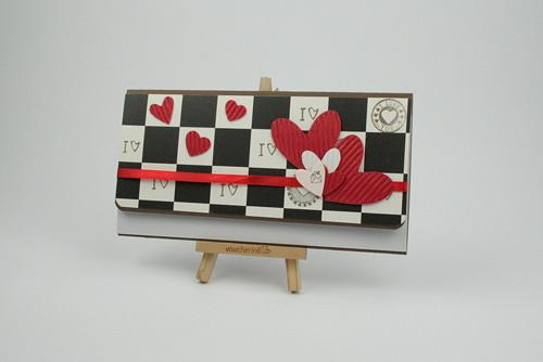 Dárková obálka / č. 61 Valentýn