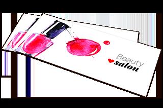 Beauty Salon Red